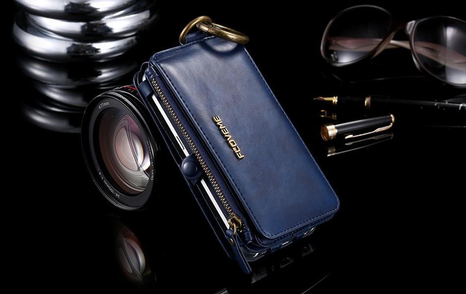 Floveme retro skóra telefon case do samsung galaxy note 3 4 5/s7/s6 edge plus metalowy pierścień coque karty portfel ochronne pokrywa 17
