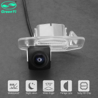 GreenYi BD 170 Degree Fisheye Sony/MCCD Lens Starlight Night Vision Car Reverse Camera For Honda Civic Accord Ciimo Fit Spirior