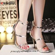 hot deal buy strap high heels ladies shoes with heels women pumps stiletto high heel shoes thin heels pumps open toe shoes for women tacones