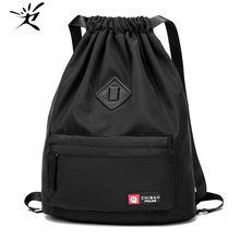 Женская нейлоновая Водонепроницаемая спортивная сумка рюкзак