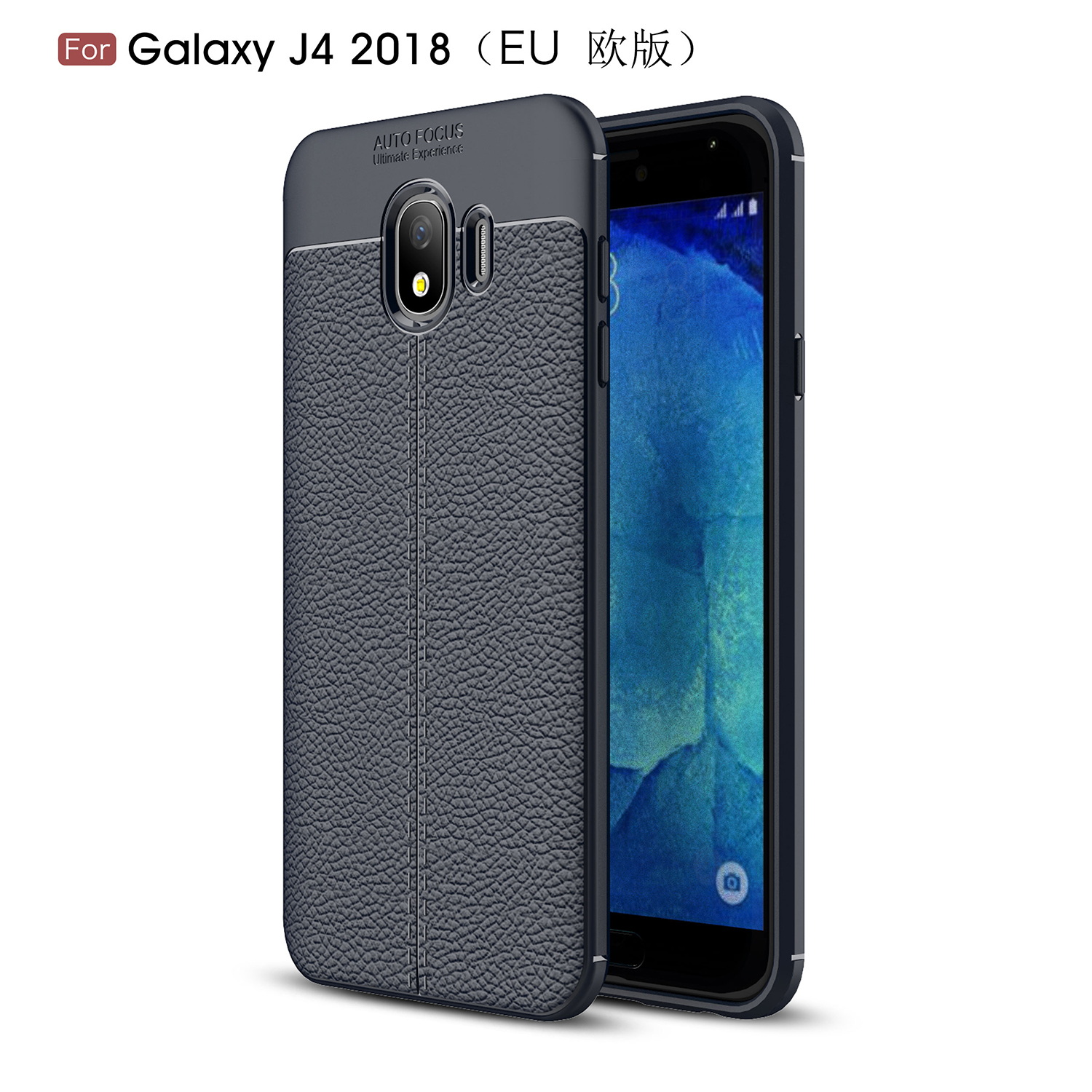 Aliexpress Buy sFor Phone Case Samsung Galaxy J4 2018 Cover Litchi Pattern Case Soft Silicone Case for Samsung Galaxy J4 2018 J400F Cover Capa from