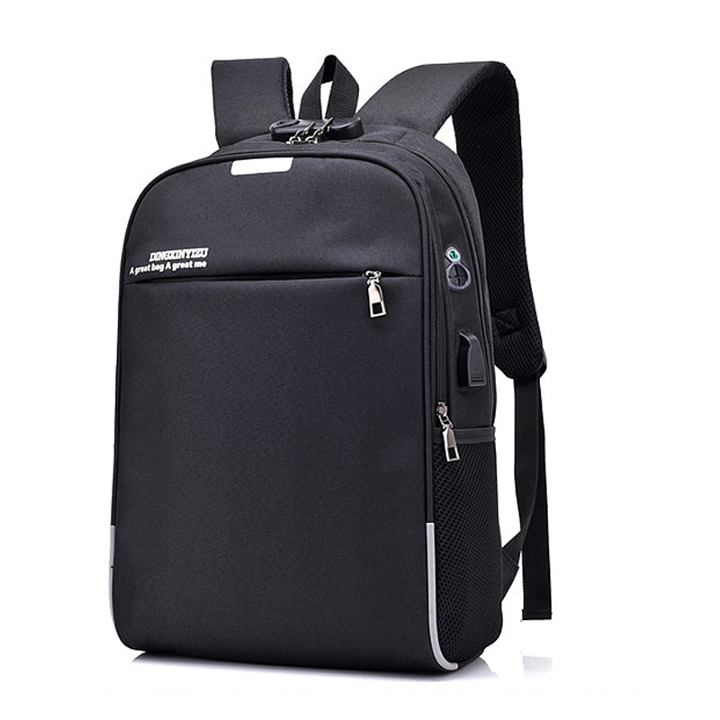 USB Charge Anti Theft Backpack for Men 15 Inch Laptop Mens Backpacks Fashion Travel Scho ...