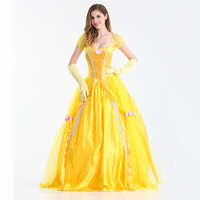 Party Prom Game Queen Princess Cosplay Costume Women Sexy Fancy Dress Outfits Deguisement Halloween Carnival Costumes For Adults