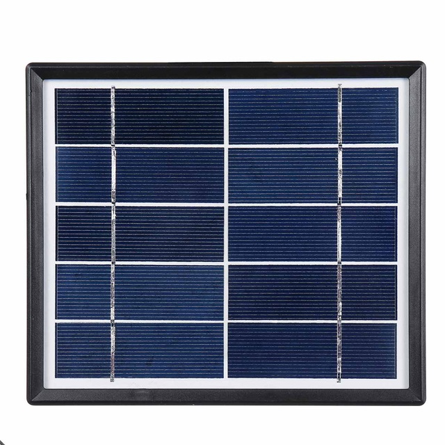 Solar Power LED Lighting System Portable Generator Solar-Panel Kit Camping Hiking Emergency Home Light with 2 LED Lamps 4