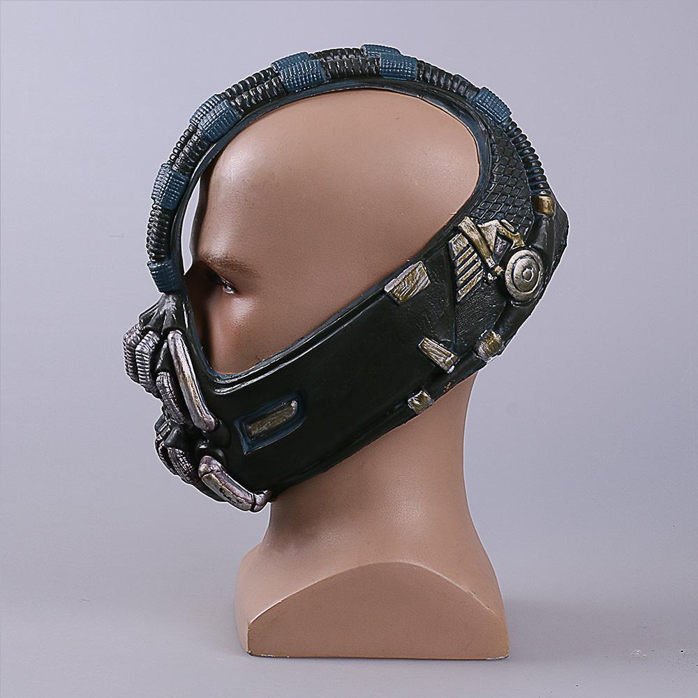 Bane mask Batman Dark Knight Horror Mask Halloween Costume Ball bane Helmet Mask Latex (3)