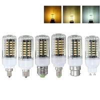 5W 5736 SMD LED Lamp Bulb E27/E14/E12/E17/B22/GU10 LED Corn Light Bulb Energy Saving Chandelier LED Light 85V-265V