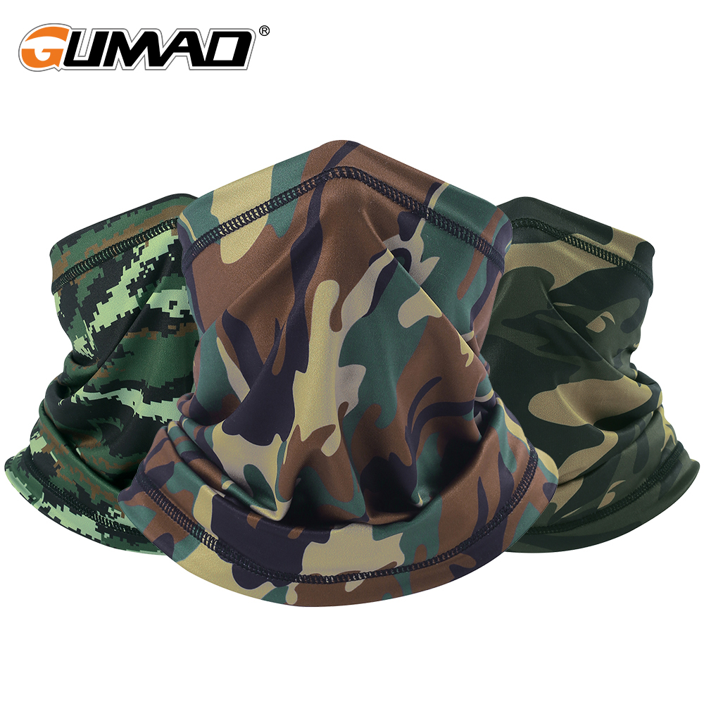 Outdoor Sports Camo Tactical Army Military Half Face Mask Neck Gaiter Warmer Shield Tube Running Hiking Cycling Bandana ScarfOutdoor Sports Camo Tactical Army Military Half Face Mask Neck Gaiter Warmer Shield Tube Running Hiking Cycling Bandana Scarf