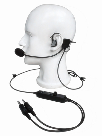 new in ear type aviation headset l 1 super light weight quiet as anr