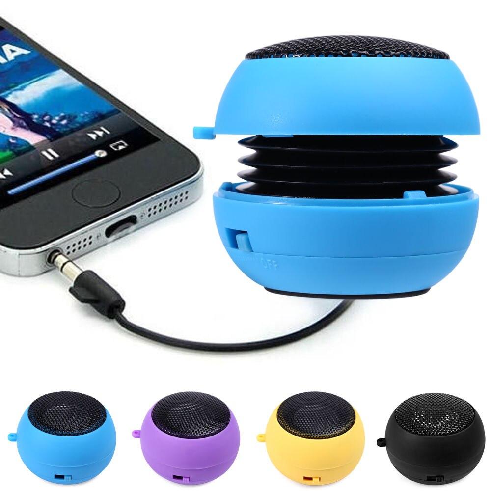 Universal Mini Portable USB Rechargeable Hamburger Speaker O