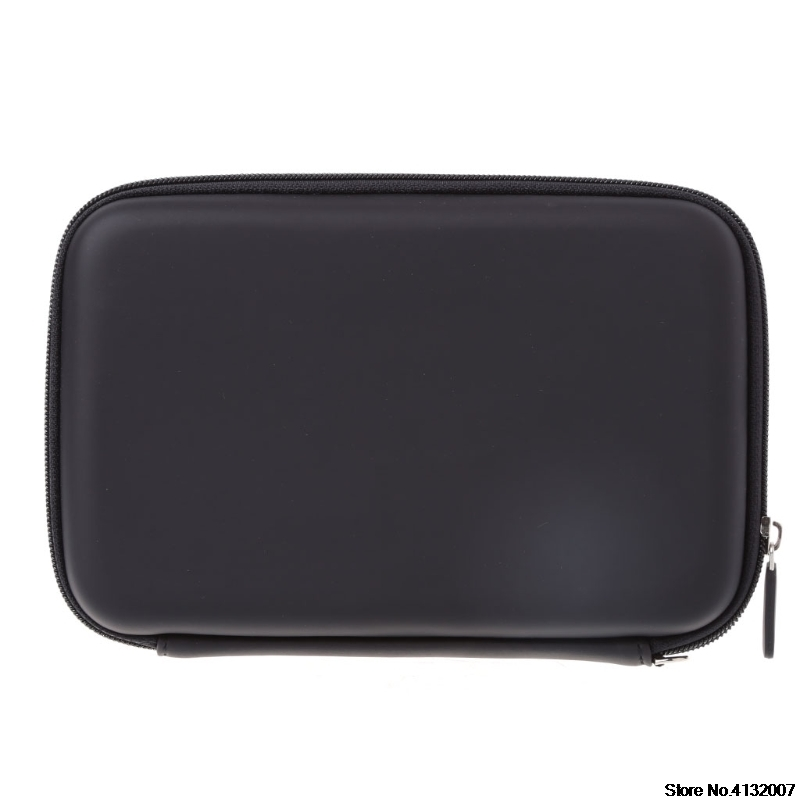 Hard Shell 7 Inch Carry Bag Zipper Pouch Case For Garmin Nuvi TomTom Sat Nav GPS