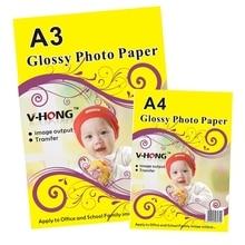 glossy photo paper a4 inkjet printer Waterproof photo print paper