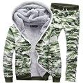 Толстые толстовки спортивный костюм зимние толстовки с капюшоном костюм с руно sportwear комплект M-3XL CYG146