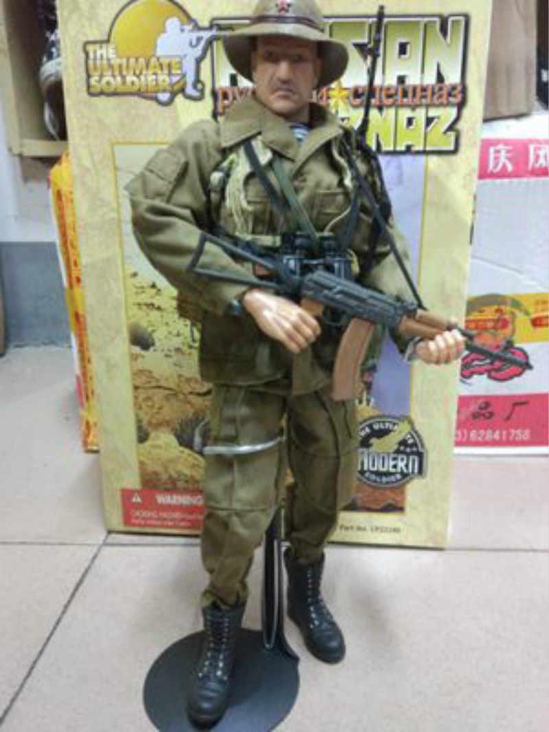 1/6 Scale Soldado Specia Força Modelo Definido para 12 polegada Rússia União Soviética do Afeganistão figura de ação brinquedos