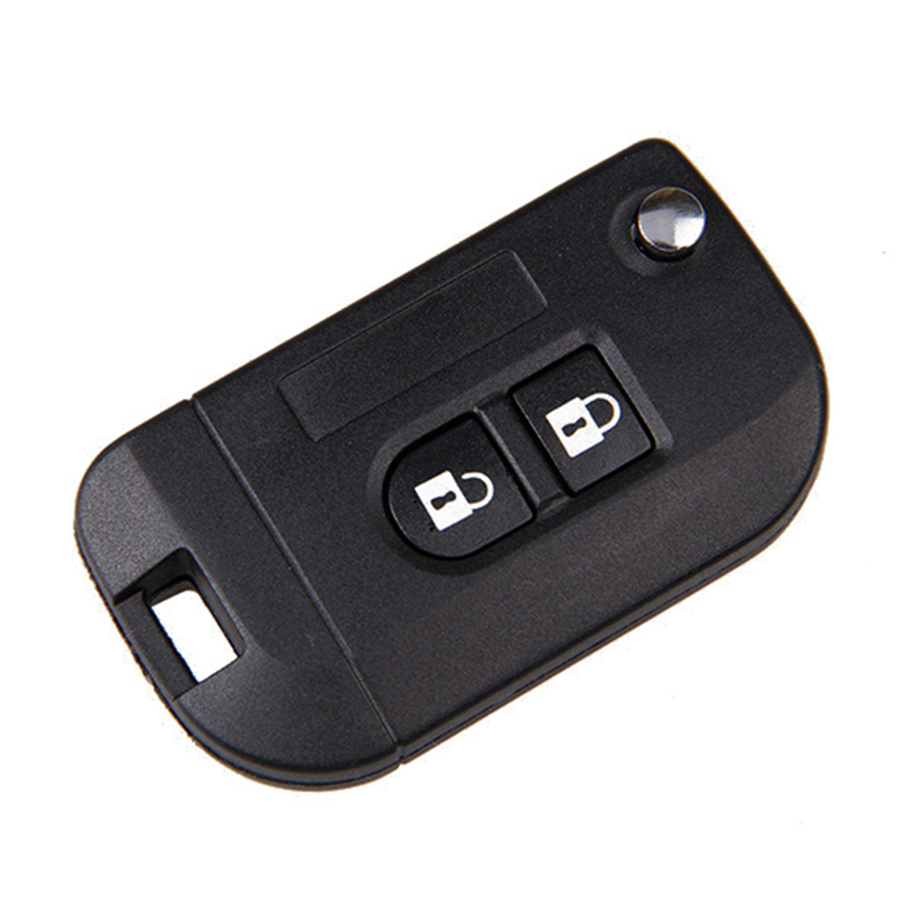Uncut Folding Flip Remote Key Shell Car Case Fob Cover Nissan Micra K12 Note Navara Qashqai 2 Buttons - Top-touch Technology Co.,Ltd store