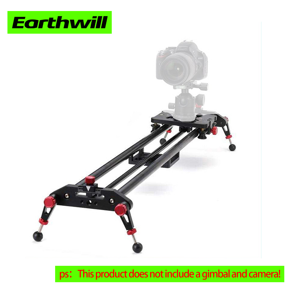 Camera Photo Studio Advertising shooting focus carbon fiber video phone trolley dslr camera slider 60 80 100 Rail Systems in Rail Systems from Consumer Electronics