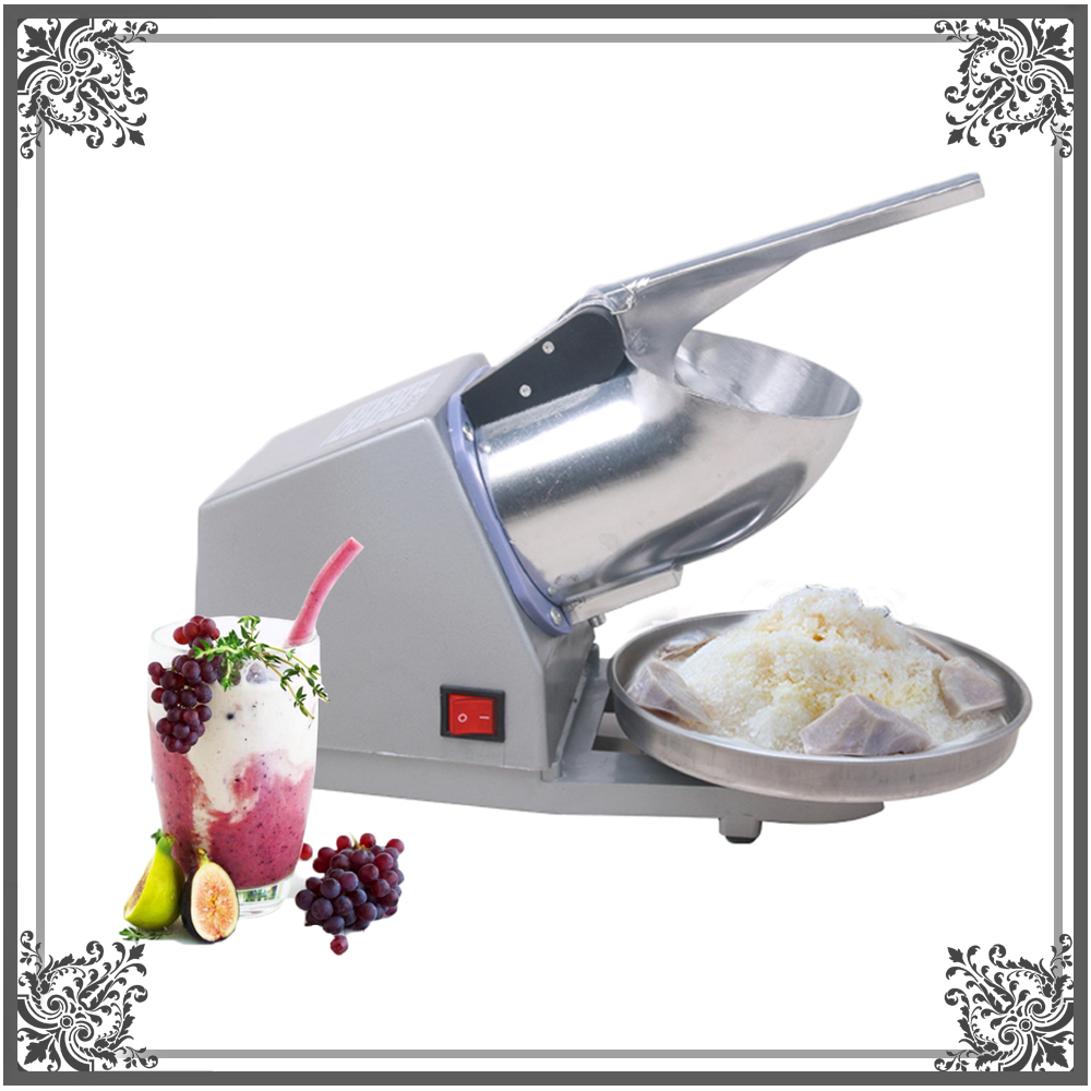 ITOP Small Ice Maker Ice Shaver Machine Electric Snow Cone Maker Stainless Steel Shaved Ice Machine automatic electric taiwanese shaved ice maker kakigori machine