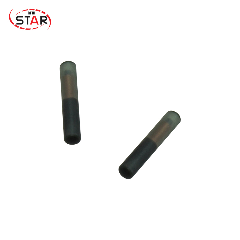 60pcs NFC Microchip 2.12*12mm 13.56mhz Animal Tracking Rfid Capsule Glass Tag Microchips NFC Chips For Animal Identification