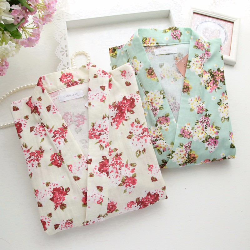 floral cotton pajamas