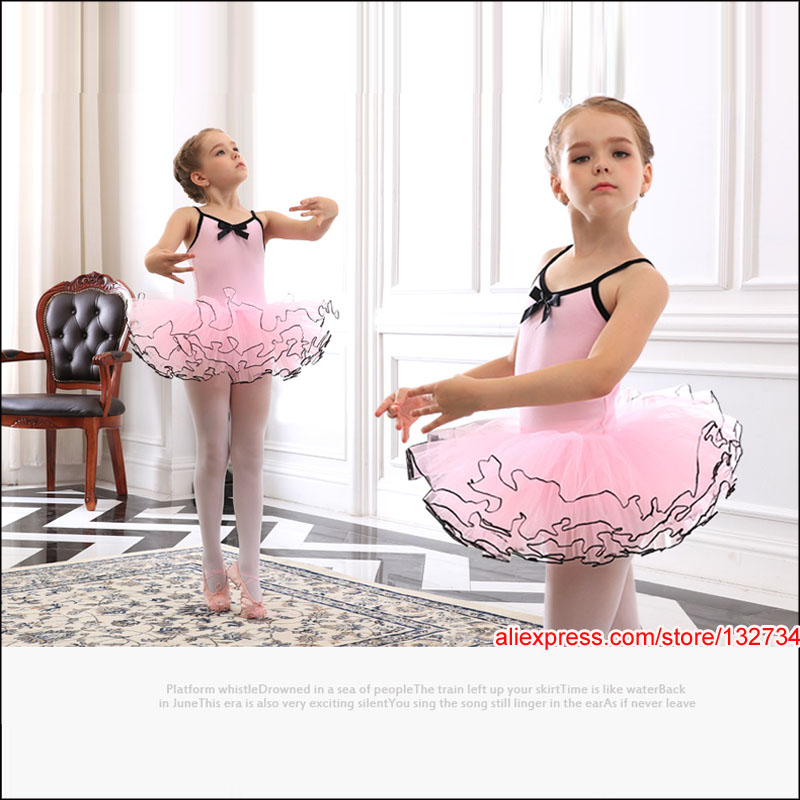 Retail&wholesale New Girls Kids Ballet Tutu Dance Elegant Dress Dancewear Party Dress,Princess,Cloth,Fabric,Gymnastics Costume