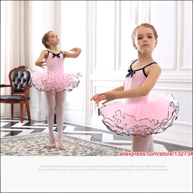 d42a261436d1 Retail wholesale New Girls Kids Ballet Tutu Dance Elegant Dress ...