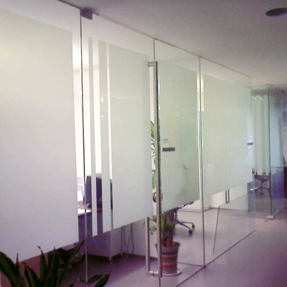 100% white tint privacy protect building glass heat resistant glued matte white window films with IR100% 60inx66.67ft(1.52x20m)