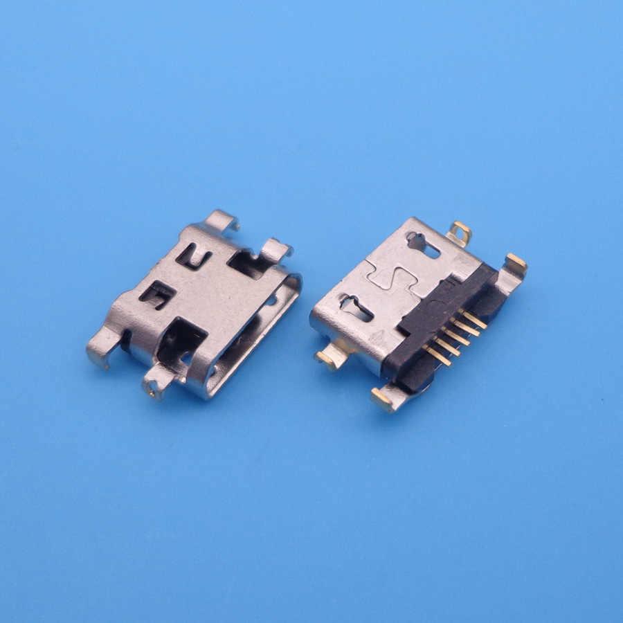 10 pièces pour Alcatel 6035R idole S 4033 4033D POP C3 C7 7041D micro usb charge jack connecteur prise dock prise port