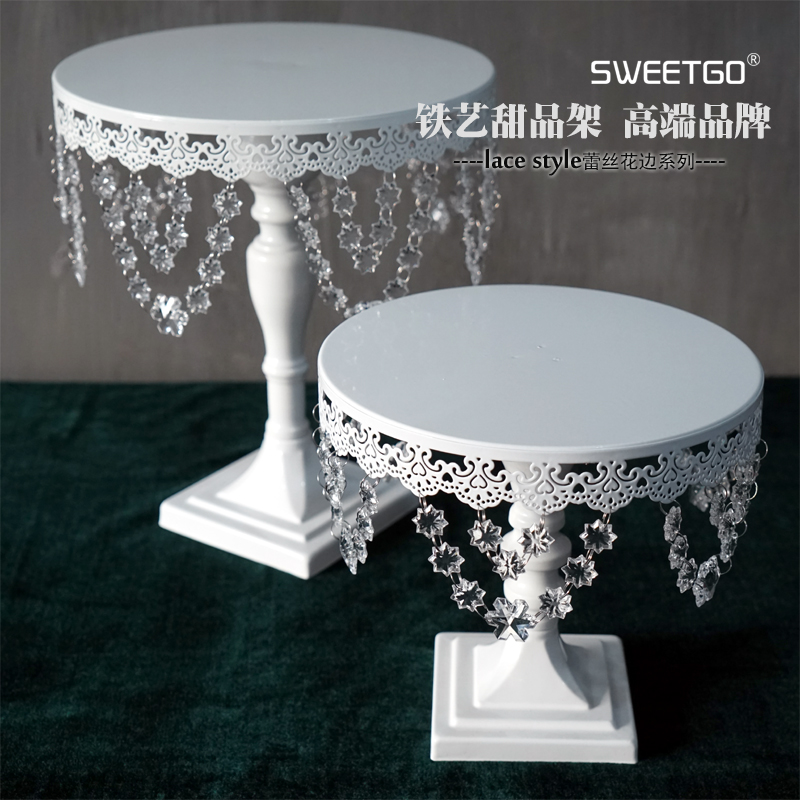 tall wedding cake stand white color cake stands lace cake stand for 20744