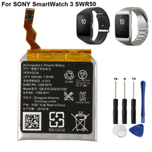 Original Replacement Smart Watch Battery GB-S10-353235-0100 For SONY GB-S10 SmartWatch 3 SW3 SWR50 3SAS S10 420mAh цена