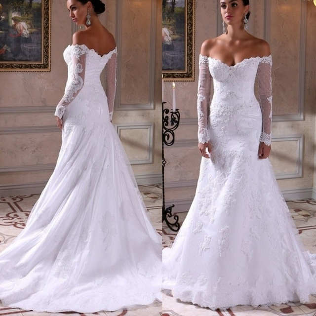 Sexy Off Shoulder Wedding Dress Fashion Dresses