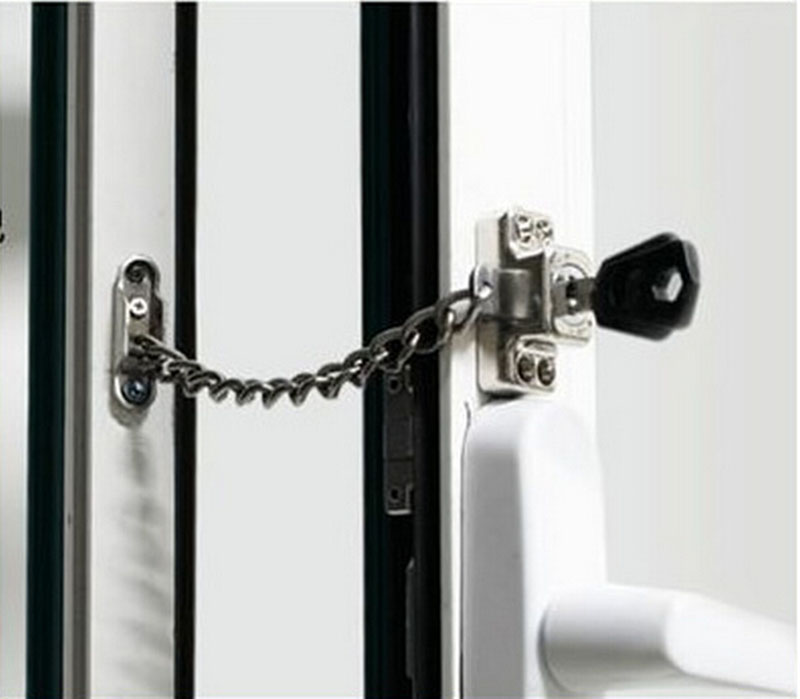 Chain window Lock/Steel window Chain Lock Hardware,Protecting the familyliding doors and windows,children lock CP380 cd диск the doors when you re strange a film about the doors songs from the motion picture 1 cd