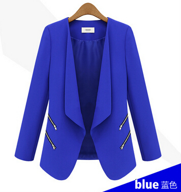 Collection Royal Blue Blazer Womens Pictures - Reikian