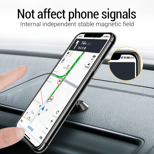 PZOZ Magnetic car phone holder Air Vent Mount Magnetic Holder for phone in car Universal stand CellPhone car for iphone holder 3