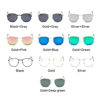 2019 Retro Round Sunglasses Women Brand Designer Sun Glasses for Women Alloy Mirror Sunglasses Ray Female Oculos De Sol 10