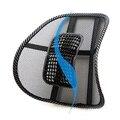 Chair Car Seat Massagem Voltar Apoio Lombar Malha Ventile Pad Almofada Preto Frete Grátis
