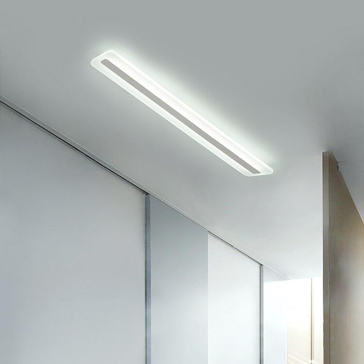 Lampe Badezimmer Decke.Us 95 2 30 Off Badezimmer Decke Rechteckigen Led Lampe Spiegelfront Schlafzimmer Led Licht Individualität L 40 60 80 100 Cm Decke Led Licht