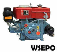 Factory Direct Supply! WSE-R180 8HP Water Cooled 4-stroke Small Diesel Engine with E-Start Applied for Generator/Pump/Cultivator