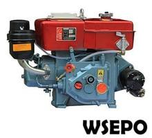Factory Direct Supply! WSE R180 8HP Watergekoelde 4 stroke Kleine Dieselmotor met E Start Toegepast voor Generator/Pomp/Cultivator