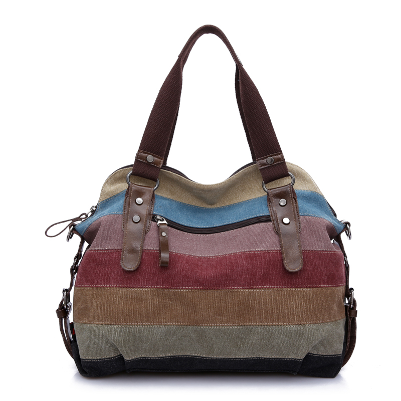 2017 designer handbags high quality canvas bag hobo vintage women messenger bags handbags women famous brands tote shoulder bags