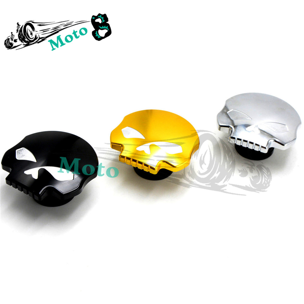 ФОТО motorcycle fuel tank cap aluminum fuel tank cover black for Harley Sportster Dyna Softail FXD FL XL FLT