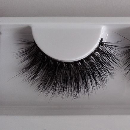 Free Shipping 1 Pair Women Lady Black 3D 100% Handmade False Eyelashes Strip Mink Thick Fake Eye Lashes Makeup Tools