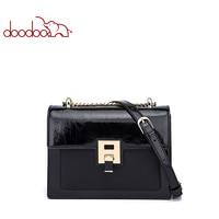 DOODOO 2019 Luxury Handbags Women Bags Designer Pu Handbag Leather Women Bag Patent Leather Shoulder Bags