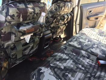 TO YOUR TASTE auto accessories universal canvas car seat cushion set for TOYOTA PRADO Highlander TERIOS COROLLA CROWN durable