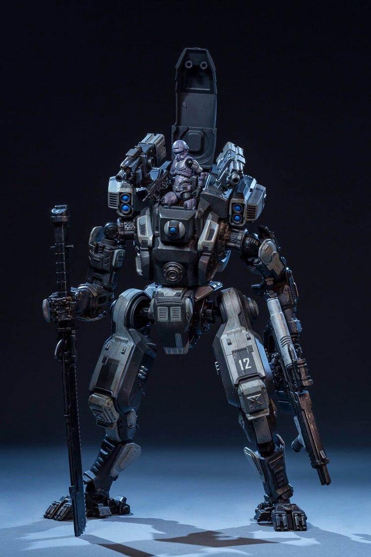 Figurki anime robota żołnierzy ruchome mecha Robot wojskowy figurka radość zabawki 1:27 3rd generacji wyprzedane w Figurki i postaci od Zabawki i hobby na  Grupa 2