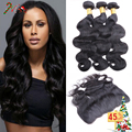 4 Bundles Cambodian Body Wave with Frontal Closure VIP Beauty Hair Ear to Ear Lace Frontal Closure with Bundles 7A Virgin Hair