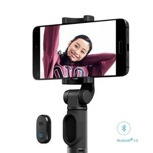Image 5 - オリジナル Xiaomi 折りたたみ三脚一脚 Selfie スティック Bluetooth ワイヤレスボタンシャッター Selfie スティック Xiaomi/iOS/アンドロイド