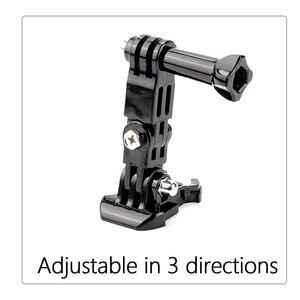 Image 4 - SnowHu sıcak satış fotoğraf aksesuarları Andoer üç yönlü ayarlanabilir Pivot kol Gopro Hero 9 8 7 6 5 4 için SJ4000 kamera GP15