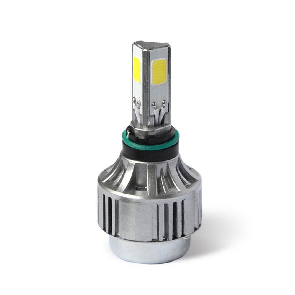 1Set 24W 2500LM White COB LED Hi/Lo Beam Motorcycle High Power Headlight Front Light Lamp H4 H4-3 HB2 9003 DC8V-36V 6000K