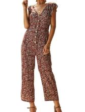Size Hot Summer Holiday Women Spot Floral Long Playsuits Trousers Jumpsuit Casual Sweet Girls Ladies Backless Sexy