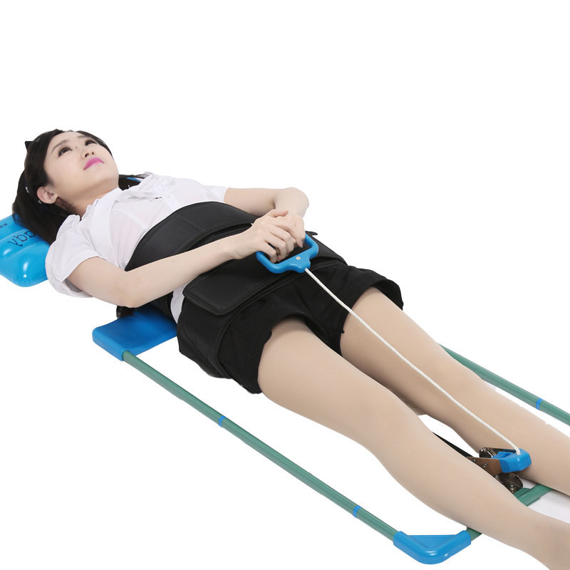 все цены на Cervical traction apparatus home between the waist dish outstanding portable lumbar spine traction stretcher