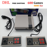 5 120pieces HDMI Out Retro Classic Game Player Family TV Video Game Console Built in 600 Games with 2 Gamepads PAL&NTSC HDMI Out